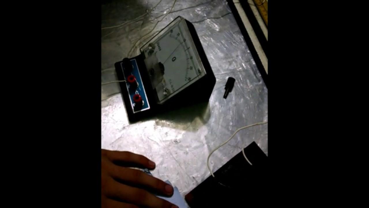 Meter Bridge 2nd year practical physics - YouTube