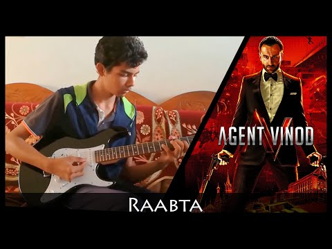Raabta - Agent Vinod - Electric Guitar Cover by Sudarshan
