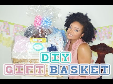 How todiy gift basket baby shower youtube how todiy gift basket baby shower solutioingenieria Gallery