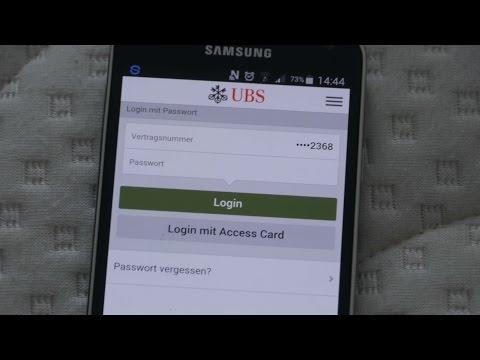 UBS Mobile Banking App Login