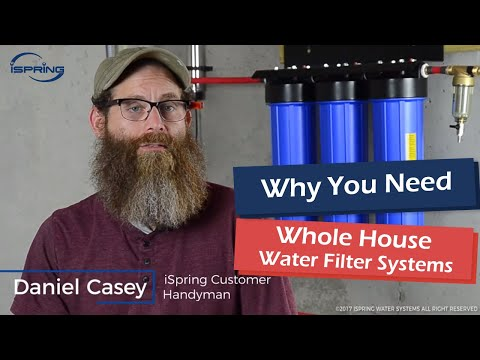 ISpring Whole House Water System Introduction And Review WSP50 WGB32BM UVF55