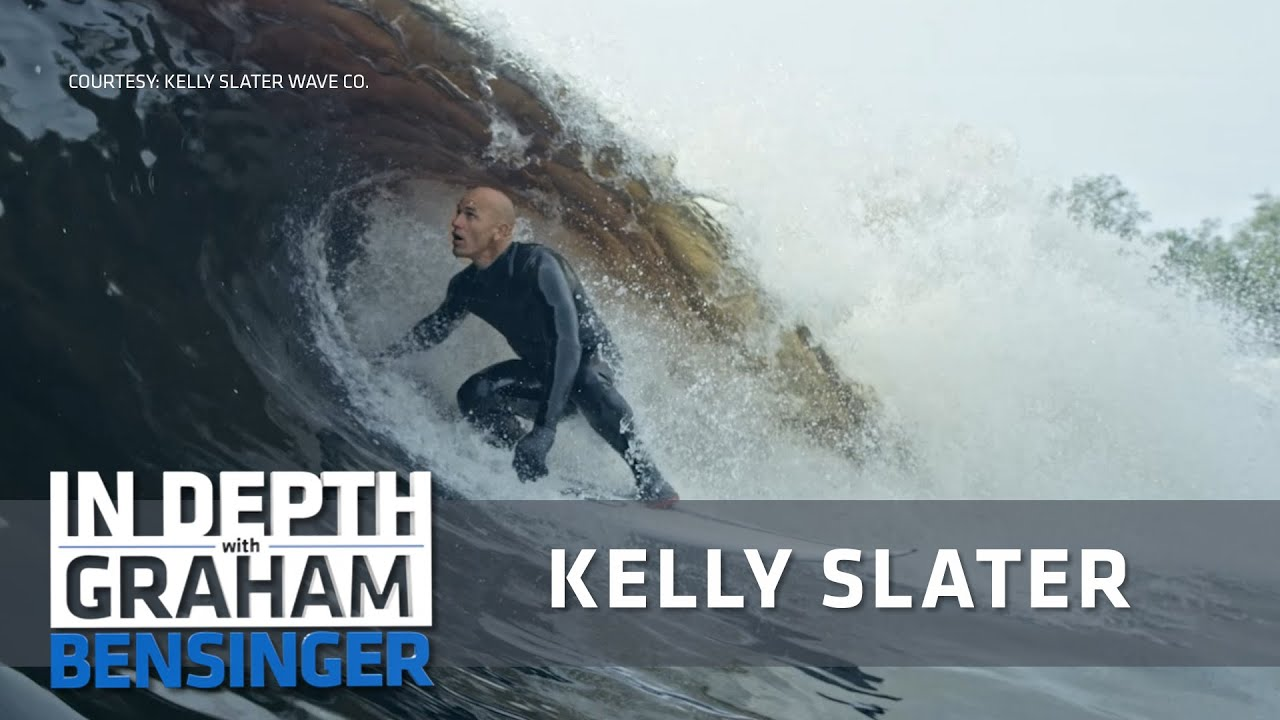Kelly Slater My man made waves and the Olympics