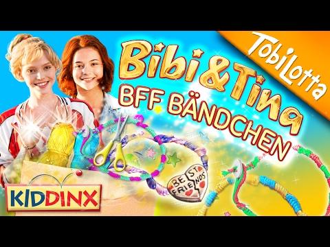 Bibi & Tina DIY Bändchen knüpfen | Bibi & Tina Tohuwabohu | Kinderkanal Tobilotta 93