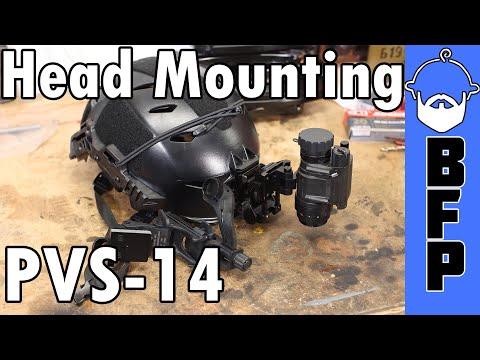 PVS 14 Head Mounting Options