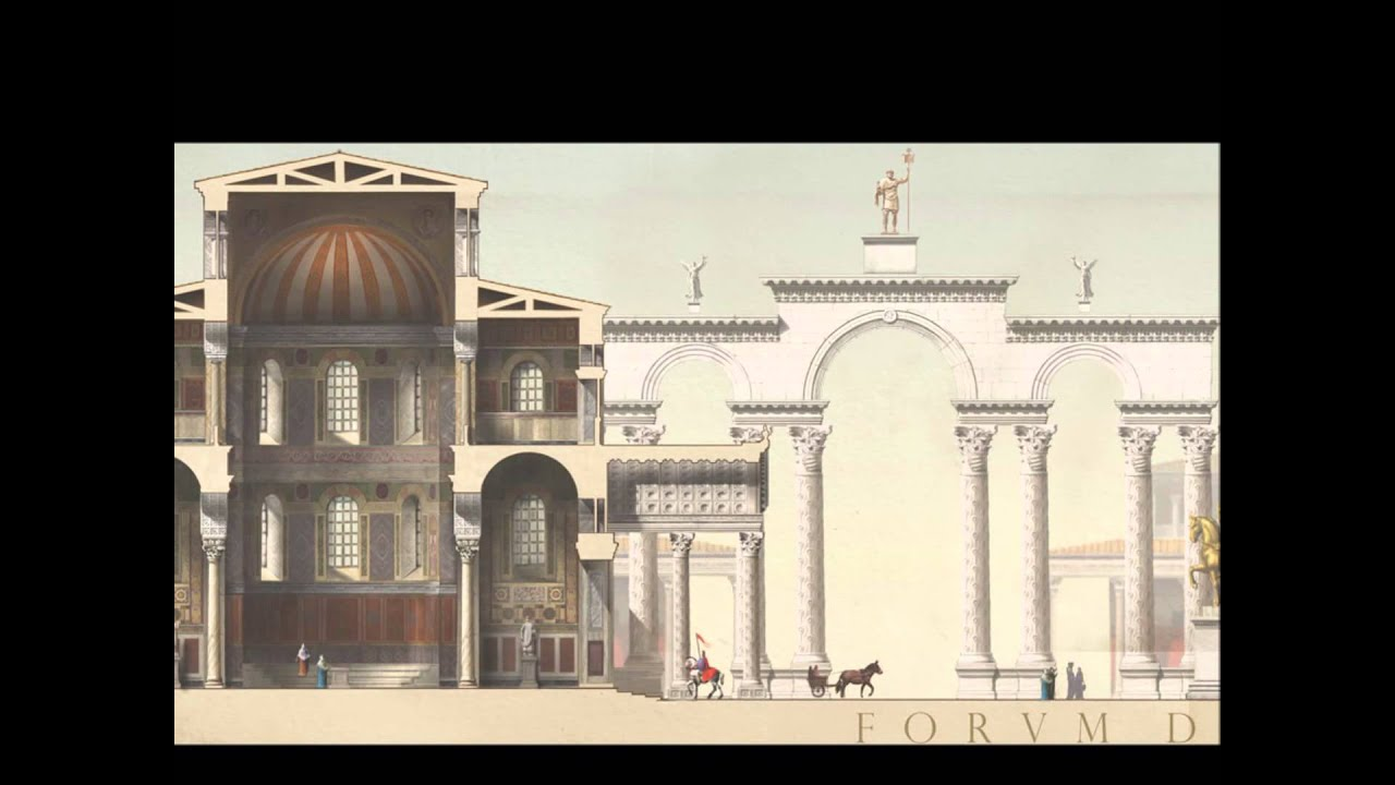 The buildings of Constantinople - YouTube