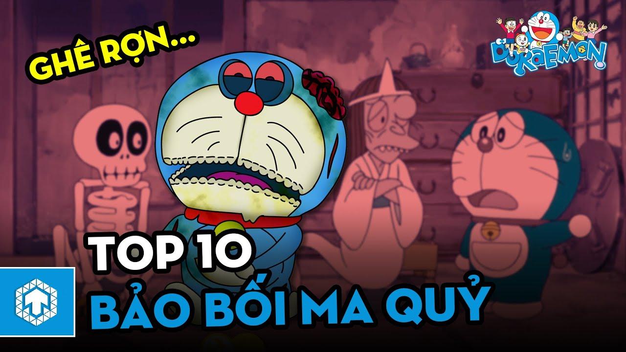 Top 10 Bảo bối Ma quỷ đầy ám ảnh | Doraemon | Ten Anime