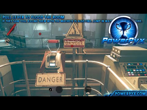 Deathloop - The G.O.D. of O.S.P. Trophy Guide (Defeat all Visionaries in a Level with Empty Loadout) |