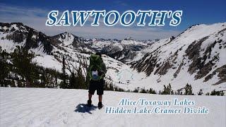 Backpacking Idahos Sawtooth Mountains: Alice/Toxaway/Hidden Lake/Cramer Divide
