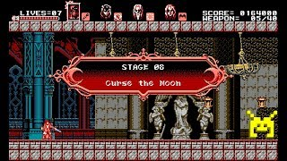 Let's Play Bloodstained: Curse of the Moon: Curse the Moon (8/8)