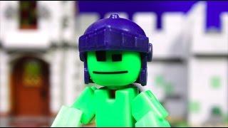 STIKBOT Knights - Stop motion Стикботы Лицарі! мультик стикбот російською