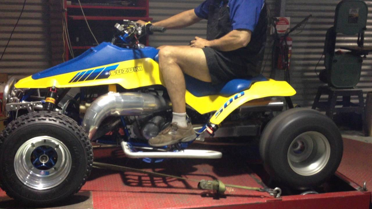 medium resolution of suzuki quadzilla 1987 lt500r latest dyno run