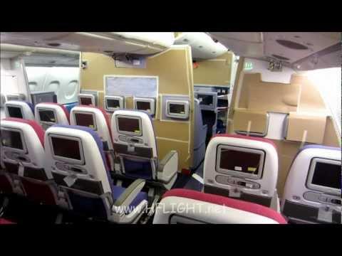 Thai Airways' First Airbus A380 under Cabin Furnishing Process in Hamburg