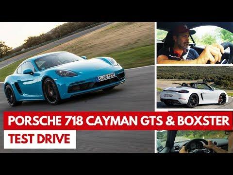 Porsche 718 Cayman GTS e 718 Boxster GTS | Test drive delle due sportive 4 cilindri