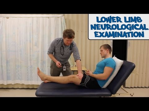 Lower Limb Neurological Examination - OSCE Guide  (Old Version)