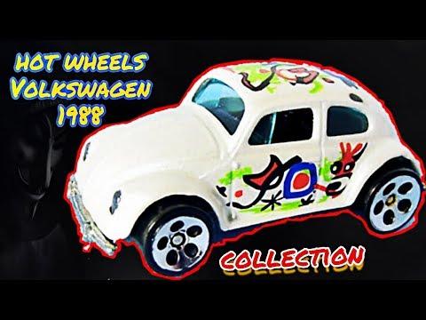 Hot wheels volkswagen beetle 1988 vw bug collection