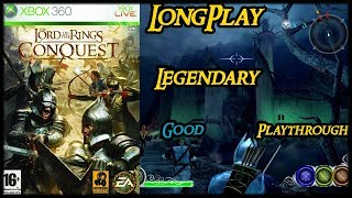The Lord of the Rings: Conquest - Longplay Good Walkthrough (Legendary Difficulty) (No Commentary)