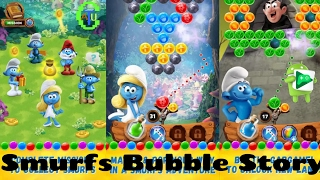 Smurfs Bubble Story - Android # Gameplay No Moto G5