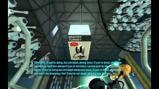 Portal 2 Interesting Moments - Wheatley's Surprise