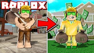 FROM POOR TO BILLIONAIRE IN ROBLOX! $1,000,000,000