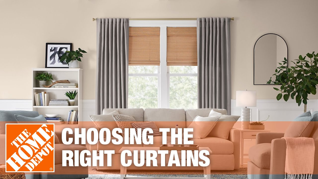 types of curtains the home depot