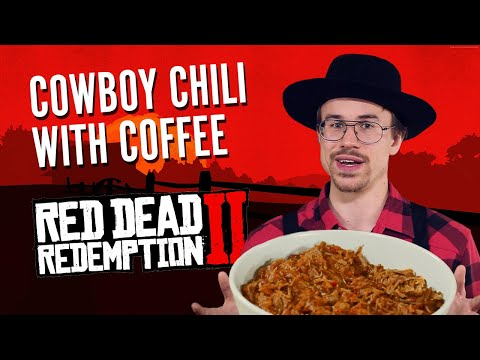 Stan's Table: Cowboy Chili with Coffee from Red Dead Redemption 2