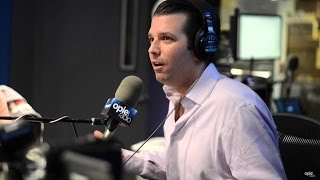 Donald Trump Jr. made sexist comments on The Opie & Anthony Show. C...