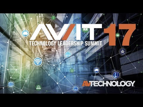 AV/IT Leadership Summit 2017 Keynote: Emerging Technology Hype Cycle
