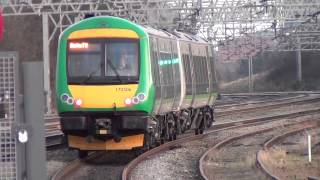 (HD) A Few Trains At Rugeley Trent Valley Station