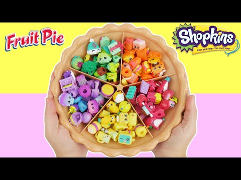 LEARN COLORS with Shopkins Super Sorting Pie Best Learning Toy Kids Preschool Toys to Teach Toddlers