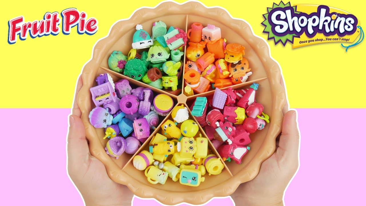 LEARN COLORS with Shopkins Super Sorting Pie Best Learning ...