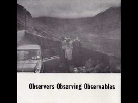 Observers Observing Observables - Watch Out for the Other Guy (1980)