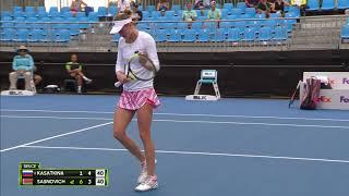 Daria Kasatkina v Aliaksandra Sasnovich match highlights (1R) | Sydney International 2019