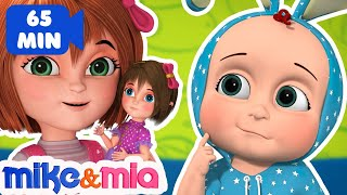Miss Polly Had a Dolly | 3D Nursery Rhymes for Children | Collection of Kids Songs by Mike and Mia