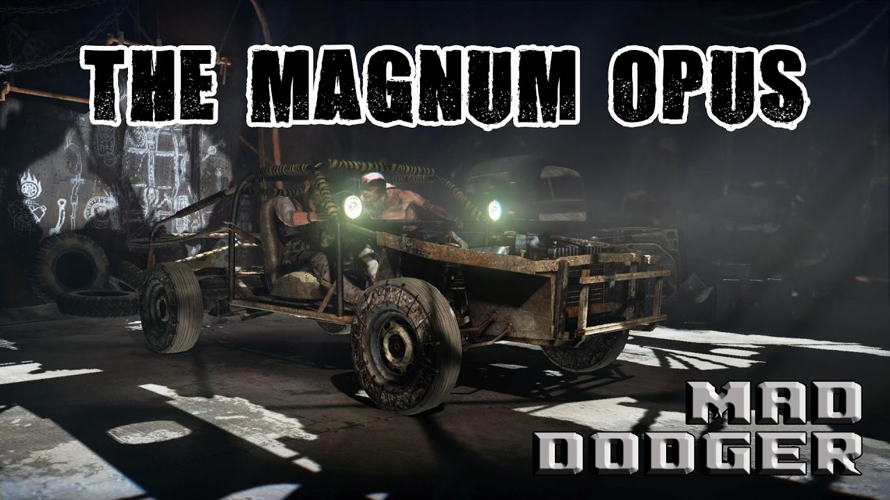 how to write a magnum opus mad