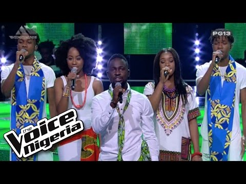 "The Top 16 sing ""Great Nation"" / Live Show / The Voice Nigeria 2016"