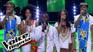 """The Top 16 sing """"Great Nation"""" / Live Show / The Voice Nigeria 2016"""