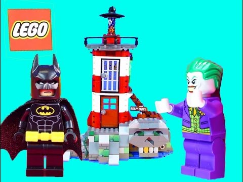 Lego Batman Shows Off Batmobile Collection Joker Steals Golden Gotham City Bank Key