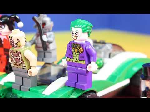 Lego Batman Movie Shows Off Batmobile Collection Joker Steals Golden Gotham City Bank Key
