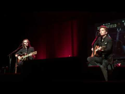 """Love Somebody"" by Rick Springfield & Richard Marx - 10/29/16"