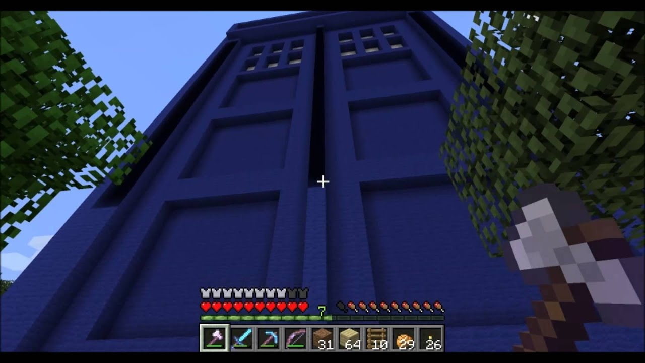how to build a tardis on minecraft