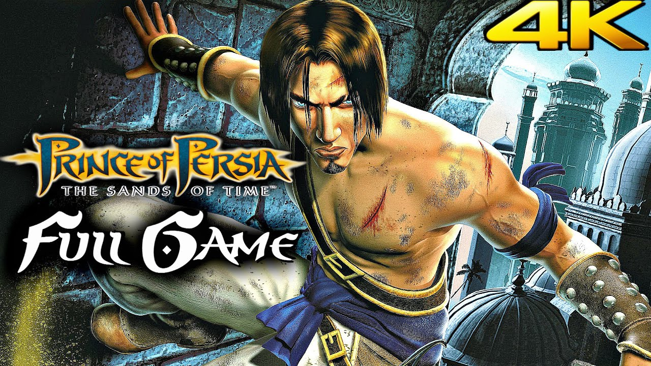 Download PRINCE OF PERSIA SANDS OF TIME Gameplay Walkthrough FULL GAME 100% (4K 60FPS)