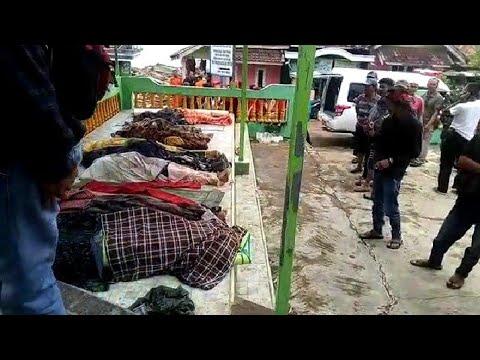 Video: Korban Tsunami di Desa Kunjir Lampung Selatan