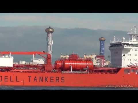 BOW SUMMER ケミカルタンカー Odfjell Chemical Tanker 大阪港
