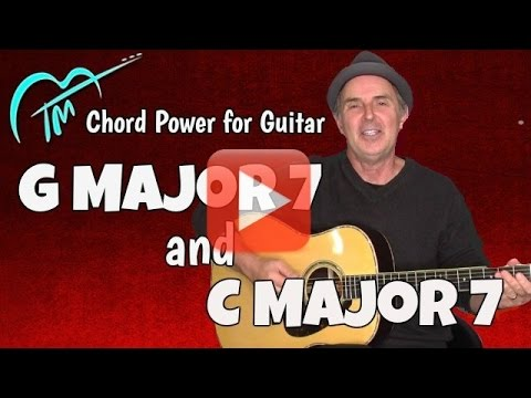 G Major 7 And C Major 7 Play 5x Songs With Chord Power Youtube