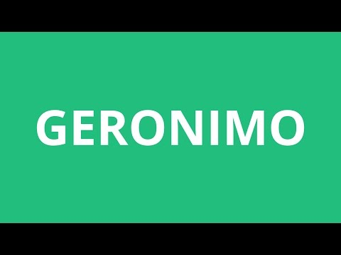 How To Pronounce Geronimo - Pronunciation Academy
