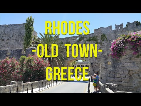 Rhodes Old Town (Greece 2016) (HD)