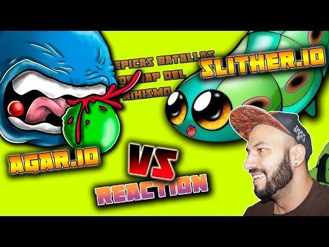 AGAR.IO vs SLITHER.IO - Batalla de Rap | Keyblade | Video Reacción