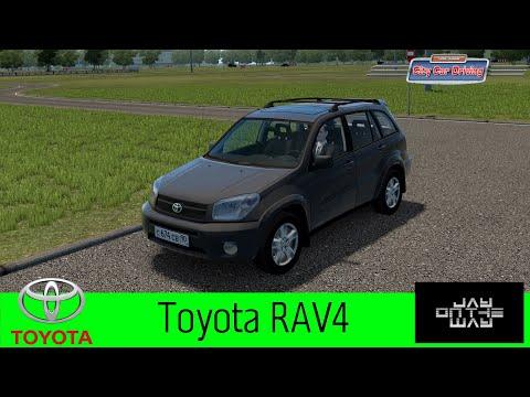Toyota RAV4 для City Car Driving (CCD)