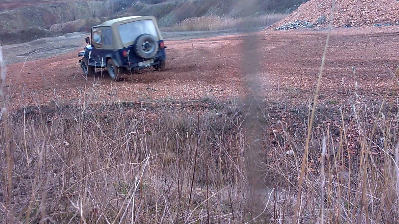 Jeep Wrangler Yj 25 Drift Gravel Youtube 1998 Fuel Filter
