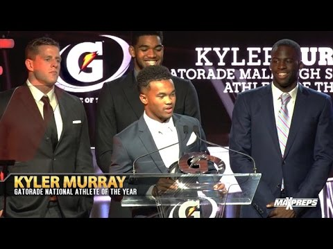 Kyler Murray Wins Gatorade National Athlete of the Year